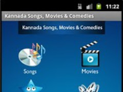 Kannada Songs, Movies&Comedies 1.0 Screenshot