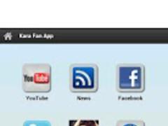 Kara Fan App 1.0 Screenshot