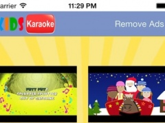Karaoke for kids and Children songs Videos HD. This is fun! 1.5 Screenshot