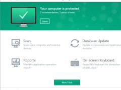 Kaspersky Anti-Virus 2017 Screenshot