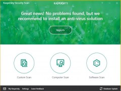 Kaspersky Security Scan 18.0.0.405 Screenshot