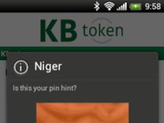 KB token 1.5.1 Screenshot