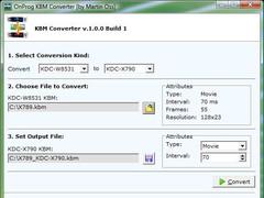 KBM Converter 1.0.0 Screenshot