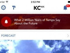 KC wx: Kansas City Wether Forecast, Radar, Traffic 4.20.150022924 Screenshot