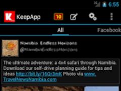 KeepApp (Beta) 0.9.9.11 Screenshot