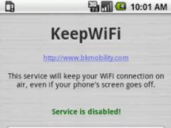 KeepWiFi 1.4 Screenshot
