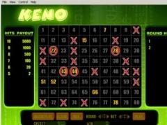 Keno Online 1.5 Screenshot