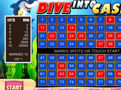 Keno Shark Casino - FREE Game 1.1 Screenshot