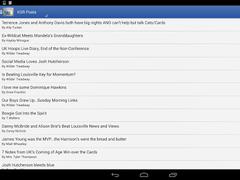 Kentucky Sports Reader 1.3.6 Screenshot