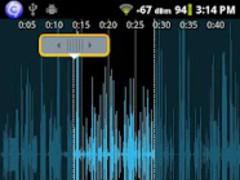Key for Audio Editor 1.0 Screenshot