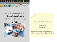 Keyapt SMS, simple PC SMS 201406221807-41613909d Screenshot