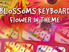 Keyboard – Flower and Beautiful Blossoms : Custom Color & Wallpaper Keyboard Themes in the Garden Style 1.0 Screenshot