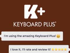 Keyboard Plus Chocolate 2.0 Screenshot