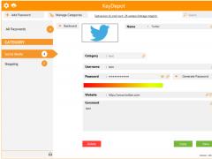 KeyDepot 2015t Screenshot