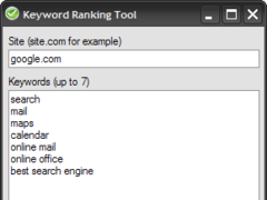 Keyword Ranking Tool 1.0 Screenshot