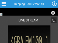 KGBA 100.1 FM Christian Radio 6.49 Screenshot