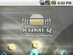 Khmer Talking Numbers 1.0 Screenshot