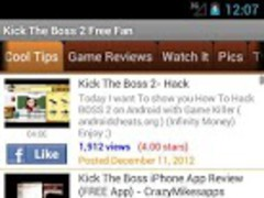 Kick the Boss 2 Free Fan 1.00 Screenshot