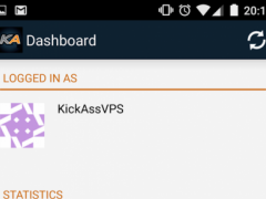 KickAssVPS Mobile VPS Manager 1.0.1 Screenshot
