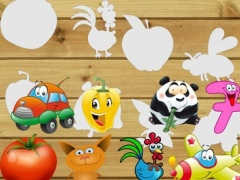 Kid Puzzles - A Game Helps Kids Learn Vietnamese 1.0 Screenshot