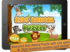 Kids Animal Puzzle - HD 1.0 Screenshot