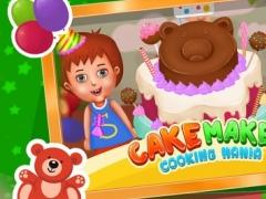 Kids Cake Maker Cooking Mania 1.0 Screenshot