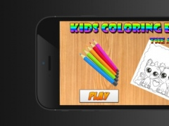 Kids Coloring Book Cute Animals - Educational Learning Games For Kids & Toddler 1.0.1 Screenshot
