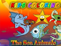 Kids Coloring Book - The Sea Animals Learning for Fun 1.0.0 Screenshot