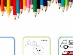 Kids Drawing & Color Book Free 6.20 Screenshot