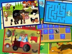 Kids Farm and Animal Jigsaw Puzzle - educational young childrens game for preschool and toddlers 1.3 Screenshot