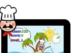 Kids Fishing Game - Help Chef catch the Fish Gangs 1.0 Screenshot
