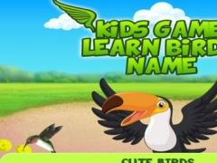 Kids Game Learn Birds Name 1.0 Screenshot