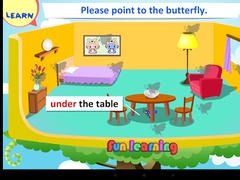 Kids Grammar Prepositions 1 2.1.1 Screenshot
