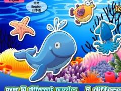 Kids' Jigsaw Puzzles wonderful sea world 123 4.2.2 Screenshot