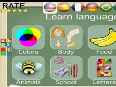 Kids Learn Languages 1.0 Screenshot