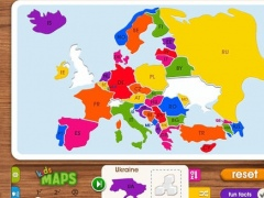 Kids Maps - Europe 2.0 Screenshot