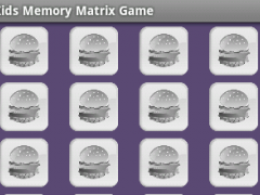 Kids Memory Matrix Game 1.0 Screenshot