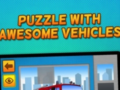 Kids & Play Cars, Trucks, Emergency and Construction Vehicles Puzzles : Free 1.0.1 Screenshot
