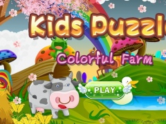 Kids Puzzles -Colorful farm hd 4.0.0 Screenshot