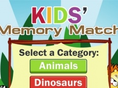 Kids Retention Match with Dinosaurs, Animals, Shapes, Objects and More without Ads 1.0 Screenshot