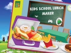 Kids school lunch food maker 1.0.3 Screenshot