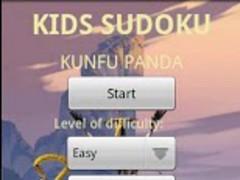 Kids Sudoku Kun Fu Panda 1.8 Screenshot