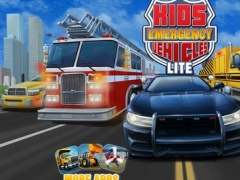 Kids Vehicles: Emergency Police Fire & Rescue Lite 1.0.4 Screenshot