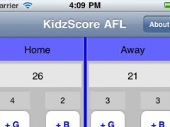 KidzScoreAFL 2.0 Screenshot