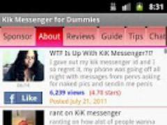Kik Messenger Guide 4 Dummies 1.00 Screenshot
