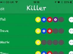 Killer Pool Scoring Tool 1.2.3 Screenshot