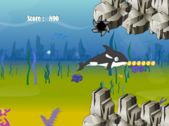 Killer Whale Shark Attack 2.0 Screenshot