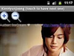Kim Hyun Joong 2.4 Screenshot
