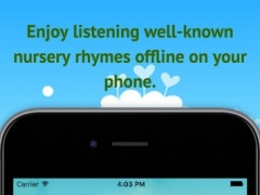 Kinder Nursery Rhymes - Listen to the most entertaining songs for children with lyrics 1.1 Screenshot