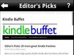 Kindle Buffet - Free eBooks 1.3 Screenshot